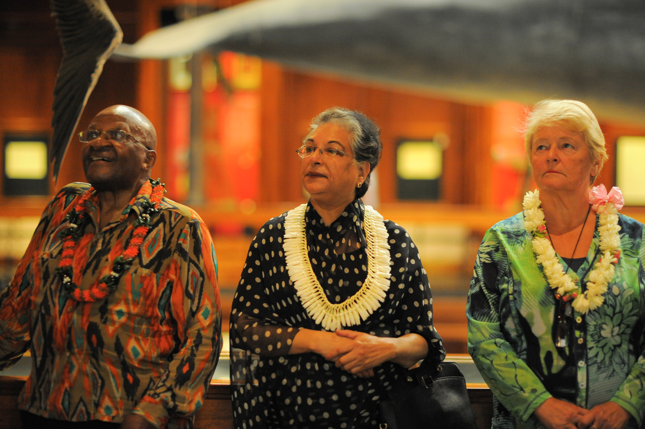 The Elders Visit Bishop Museum and Iolani Palace